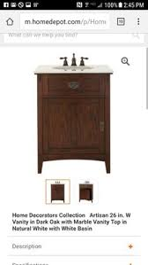 home decorators collection winslow 33 in w vanity in antique grey