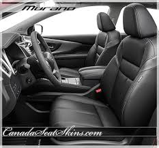 Vehicle Leather Upholstery 2015 2017 Nissan Murano Custom Leather Upholstery