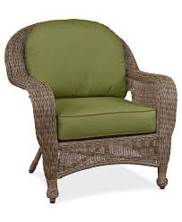 sandy cove wicker outdoor club chair custom colors created for
