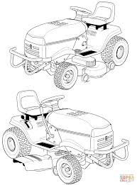 tractors coloring pages free coloring pages
