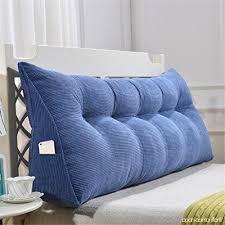 coussin dossier canapé triangle coussin de lit de tête sac douillette coussin de canapé