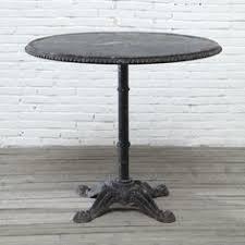 Adjustable Bistro Table Round Adjustable Bistro Table Westelm Midcentury Office