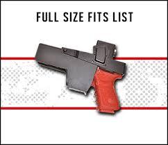 Jotto Desk Laptop Mount by Fit Chart Selection Please Select Your Handgun Size