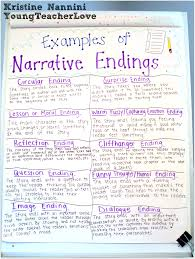 Sample Of A Narrative Essay Writing Narrative Endings