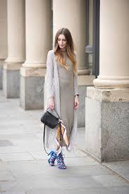 maxi dress u0026 long cardigan the l fashion