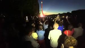 Colors Of The Mexican Flag Eiffel Tower Dressed With Mexican Flag Youtube