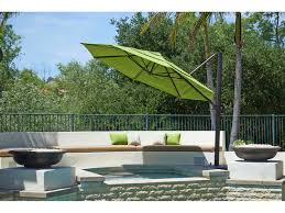 11 Cantilever Patio Umbrella With Base by California Umbrella Cali Series 11 Foot Octagon Cantilever