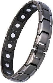 titanium magnetic bracelet black images Men 39 s magnetic bracelets smarter lifestyle shop jpg