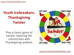 youth icebreakers thanksgiving
