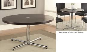 4 feet tall table modern adjustable height round table with regard to coffee tables
