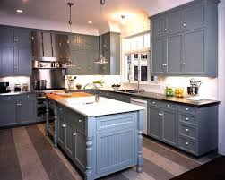 Download Blue Grey Painted Kitchen Cabinets Gencongresscom - Blue painted kitchen cabinets