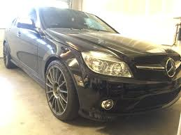 fs 2009 mercedes benz c300 w204 black on black manual