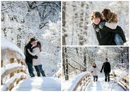 minnesota wedding photographers blizzard engagement jeannine photography
