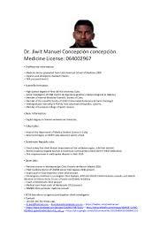 Curriculum Vitae Medical Doctor Curriculum Vitae English