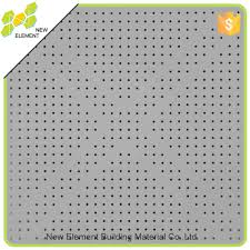 perforated particle board ceiling tile perforated particle board