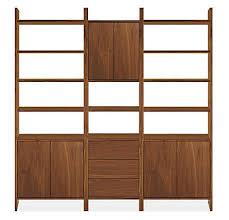 Modern Furniture Shelves by Addison Modern Wall Units Modern Bookcases U0026 Shelves Modern
