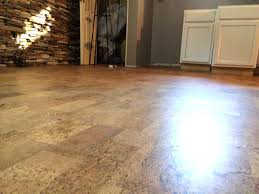 Vinyl Floor Basement Cork Basement Flooring Basements Ideas