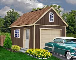 1 Car Prefab Garage One Car Garage Horizon Structures 100 Two Car Garage With Loft Two Story House Plans With