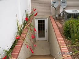 basement entrance house and landscaping pinterest basement