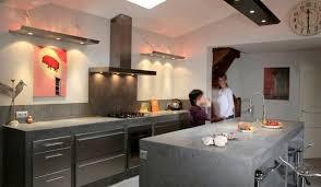 cuisine industrielle inox l esprit indus dans la cuisine inspiration cuisine