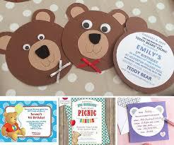 teddy bear invitation template eliolera com