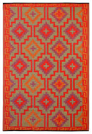 Plastic Woven Outdoor Rugs Lhasa Rug American Southwest Floor Rugs By Fab Habitat