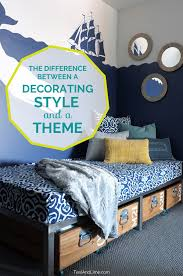 decorating theme the difference between a decorating style and a decorating theme