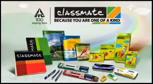 classmate product itc i am writing