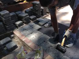 Patio Paver Base Material by Diy Patio In A Day