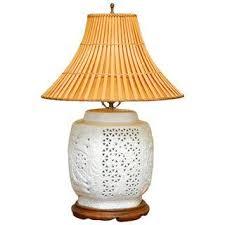 Vase Table Lamp Vintage U0026 Used Asian Table Lamps Chairish