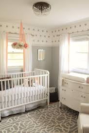 best 25 small nursery layout ideas only on pinterest small baby 12th and white peach and gray nursery reveal