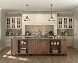 Antique Painting Kitchen Cabinets Antique Color Paint Kitchen Cabinet With Wood Island Design Ideas