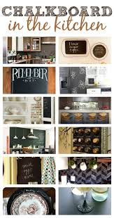 kitchen chalkboard ideas 48 best anythings better with chalkboard paint images on pinterest