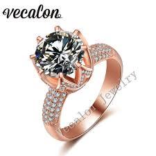 online get cheap rose gold engagement ring aliexpress com