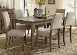 Dining Room Pictures by Hollyhock Distressed White Dining Room Set From Homelegance 5123