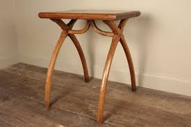 stylish 19th c x frame elm u0026 pine side table in tables