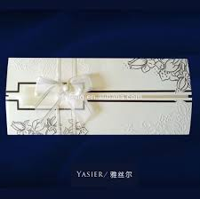 muslim wedding card invitation custom elegant design wholesale