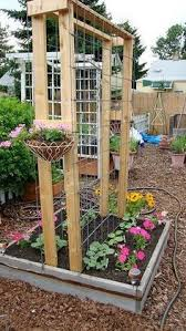 Simple Trellis Ideas 15 Easy To Build Raised Garden Beds Trellis Ideas Raised Bed
