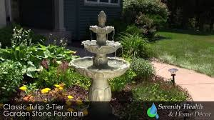 classic tulip 3 tier fountain w instructions 131502gds youtube