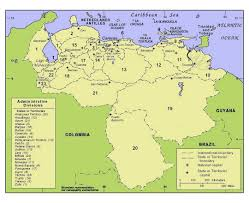 Map Of Columbia South America by Maps Of Venezuela Detailed Map Of Venezuela In English Tourist