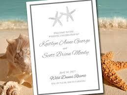 Beach Wedding Program Templates 100 Diy Wedding Programs Template Creative Wedding Ceremony