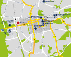 Frankfurt Airport Map Maps U0026 Transportation Hotel Darmstadt