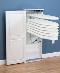 Ironing Board Storage Cabinet This Site Has Pre Made And Diy Plans For Ironing Board Cabinets