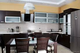 Dark Wood Kitchen Table Pictures Of Kitchens Modern Dark Wood Kitchens Kitchen 2