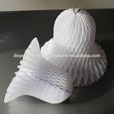 white christmas paper tissue bells paper luxe tissue bell