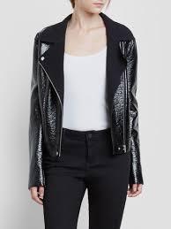 leather jacket black friday sale kenneth cole women u0027s jackets leather blazers u0026 vests kenneth cole