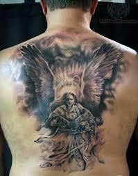 fantastic guardian on back for guardian warrior