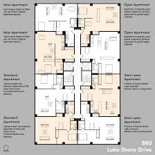 Multi Family Apartment Floor Plans Apartments Glamorous Floor Plans Measurements Home Design Jobs