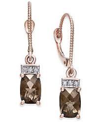 smoky quartz earrings smoky quartz earrings macy s