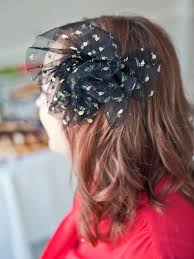 tulle hair bows how to make a vintage inspired tulle hair comb hgtv